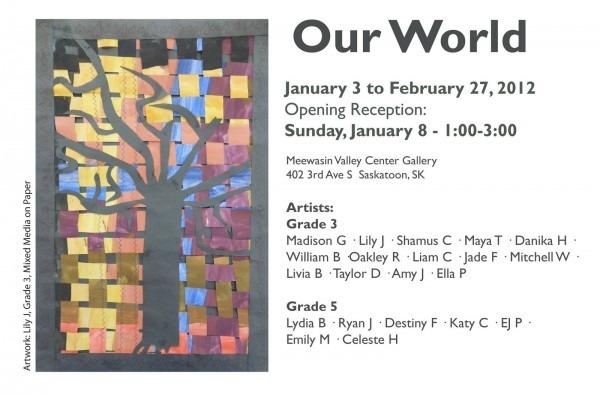 Art Show Invitation Template