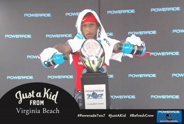 Powerade 7 On 7 Meme Photo Kiosk
