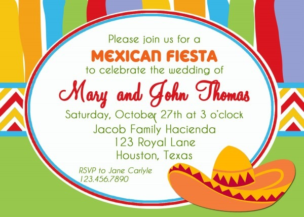 Mexican Party Invitations Mexican Party Invitations For Party