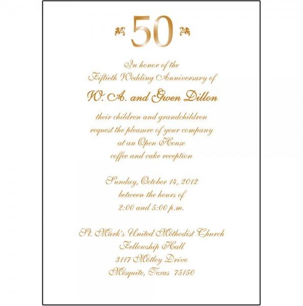 Wedding Invitations Spanish Wording: Spanish Wedding Anniversary Invitations
