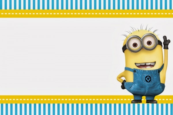 Minion Birthday Party Invitations Using An Excellent Design Idea