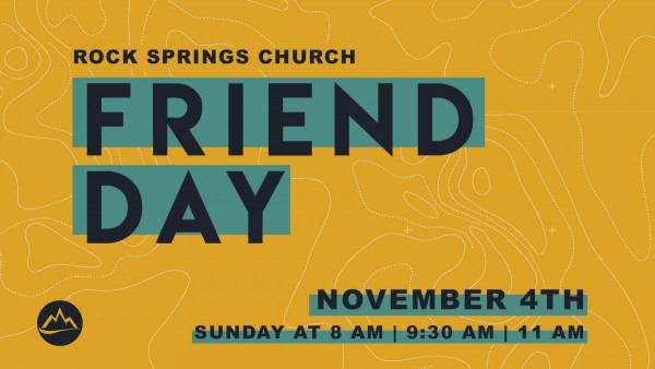 Friend Day 2018