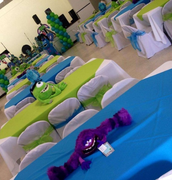 Monster's Inc Birthday Party Ideas