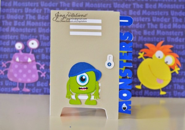 Jingvitations  Monster University Invitations