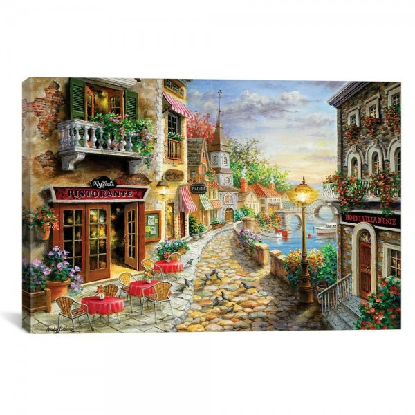 Icanvas  Invitation To Dine  By Nicky Boehme Canvas Wall Art