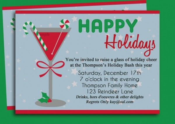 Office Christmas Party Invitation Wording From Yourbody Ua