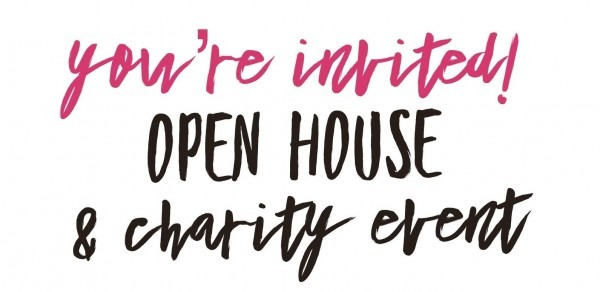 You're Invited! Open House & Charity Event