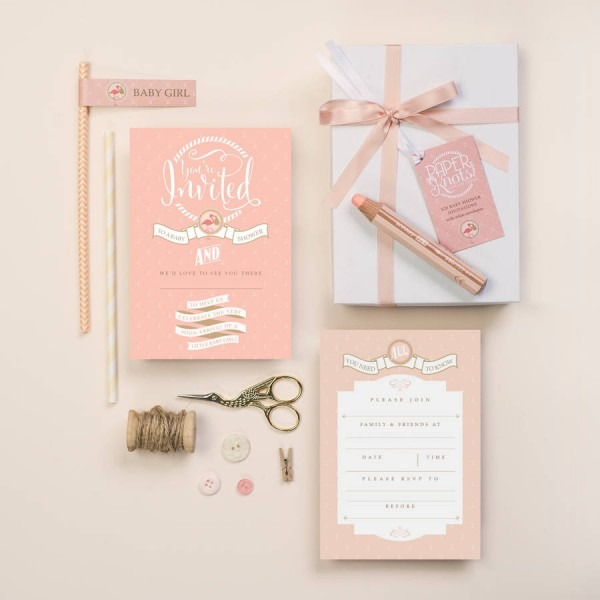 Baby Shower Invitation Box Sets By Paperknots