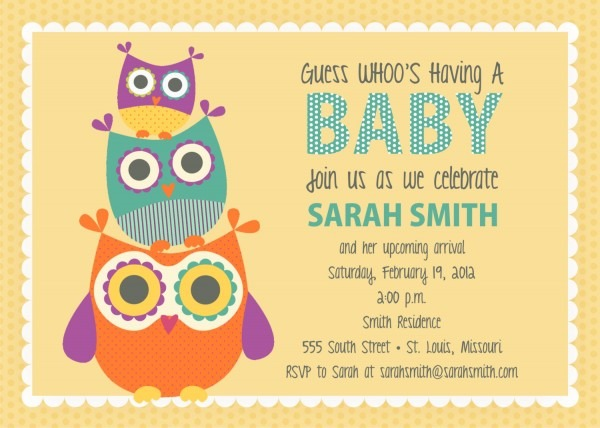 Owl Birthday Party Invitations Templates Animal Themed Shower Curtains