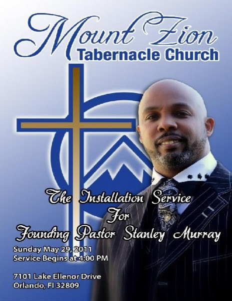 Mt  Zion Tabernacle Pastor Installation Service By Mt  Zion