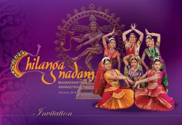 Chilanga Nadam 2016 Invitation Card By Muthu Valarmathi