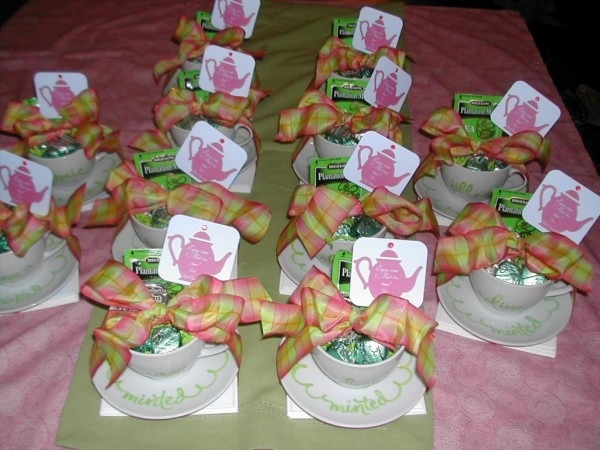 Personalized Tea Cup Favors