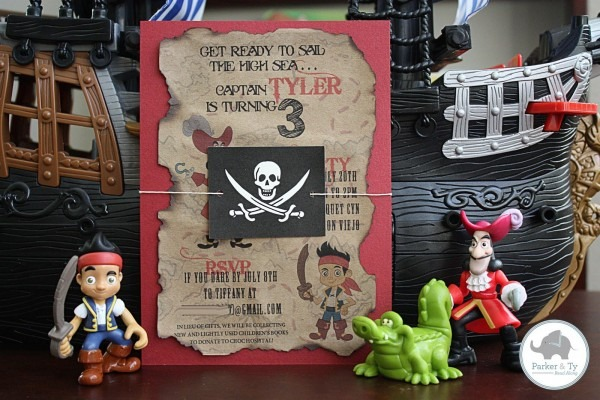 Princess And Pirate Party Invitations Free