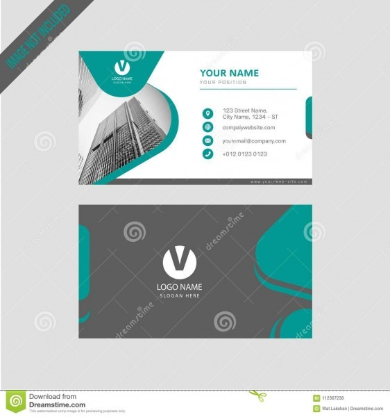 Professional Modern Color Simpal Business Card, Invitation Card