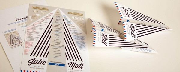 Paper Airplane Ceremony Program