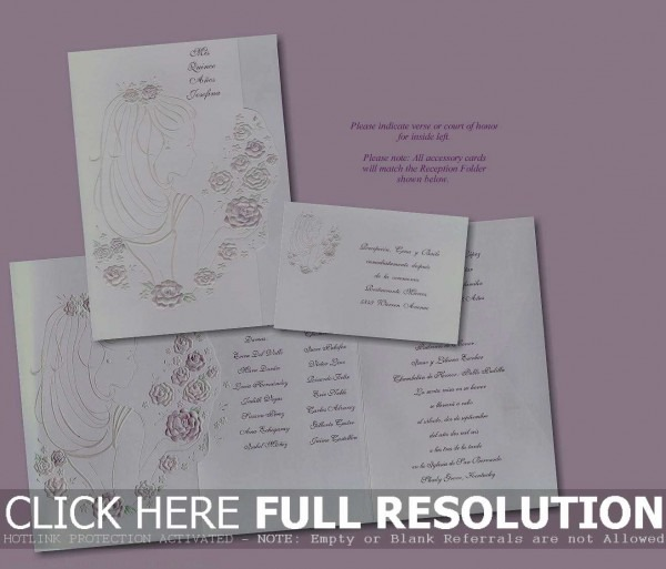 97+ Quinceanera Invitations Templates 38 Awesome Images Of