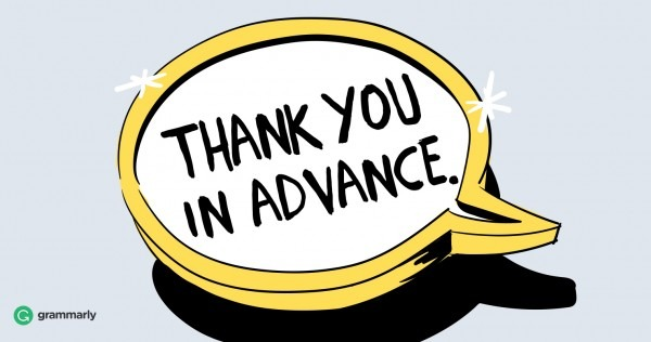 """5 Alternative Ways To Say """"thank You In Advance"""""""