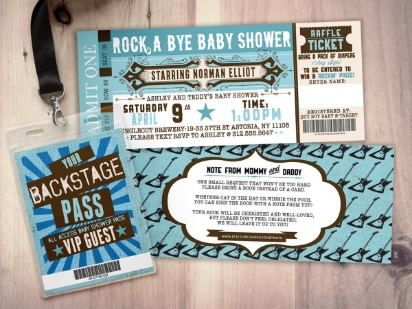 Baby Shower  Coed Baby Showers  Bbq Beer Baby Shower Invitation