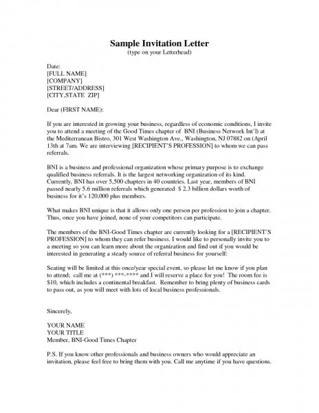 Sample Invitation Letter Media Press Conference Fresh Template For