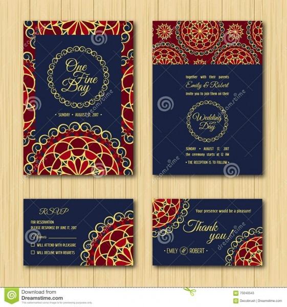Save The Date Rsvp Cards Wedding Invitation Orange Blue Palette