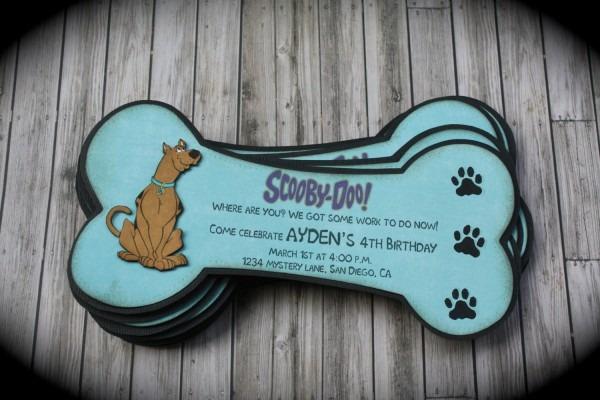 Scooby Doo Invitations Templates