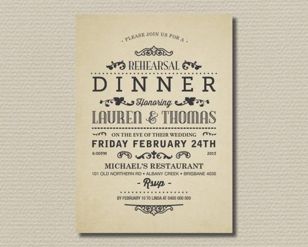 Simple Dinner Invitation Wording Ideal Dinner Party Invitation