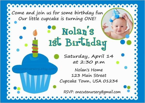 St Birthday Invitation Themes For Boys Popular 1st Birthday