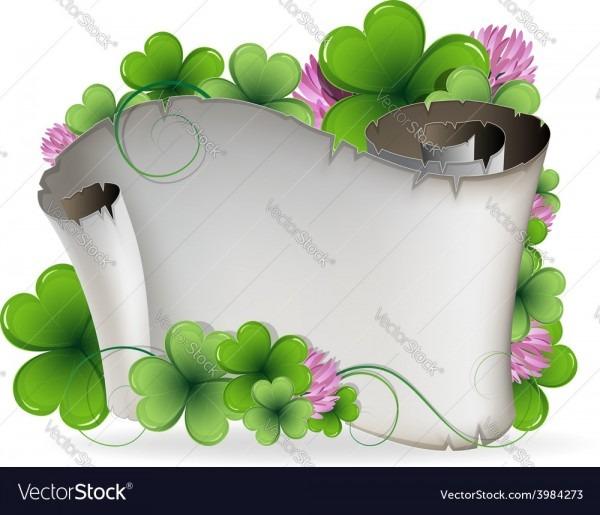 St Patricks Day Invitation Royalty Free Vector Image