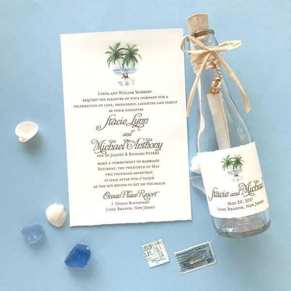 Beach Wedding Invitations Archives