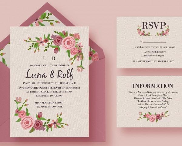 Wedding Ideas  Wedding Invitation Design