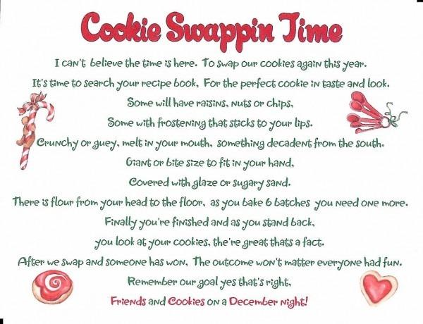 Best Cookie Exchange Invitation Of 2011