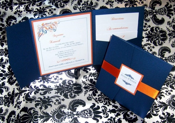 Suzanne And Kenneth's Wedding Invitations