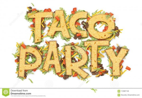 Taco Party Stock Illustrations – 923 Taco Party Stock