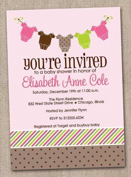 Welcome Home Baby Shower Invitations Cards • Baby Showers Design