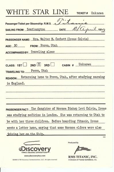 Titanic Invitations Templates Boardingpass2