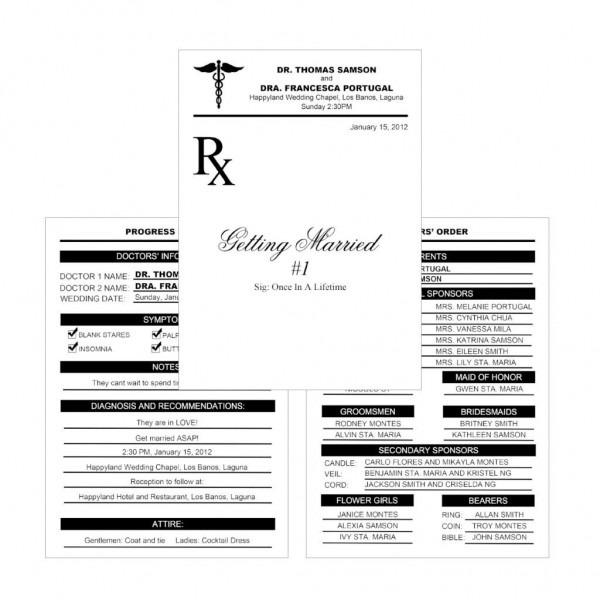 Kalidad Prints And Favors — 038 Doctor's Medical Prescription Pad