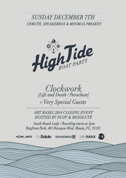 Ra  High Tide With Clockwork On A Boat