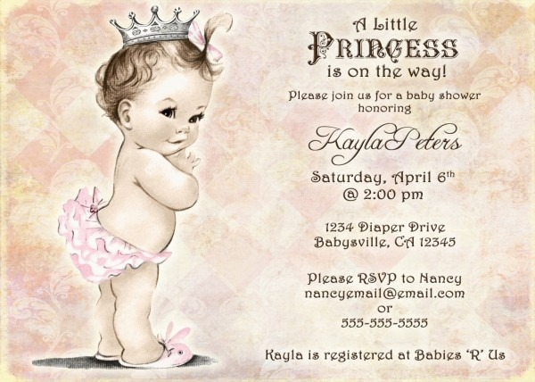 Vintage Baby Shower Invitations From Festdude To Get Ideas How To