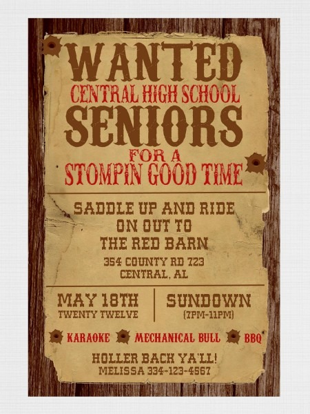 Nice Wanted Poster Invitation Template Images Gallery  Wanted