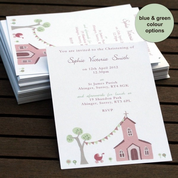 Wedding And Baptism Together Invitations Beautiful Travel Inspired