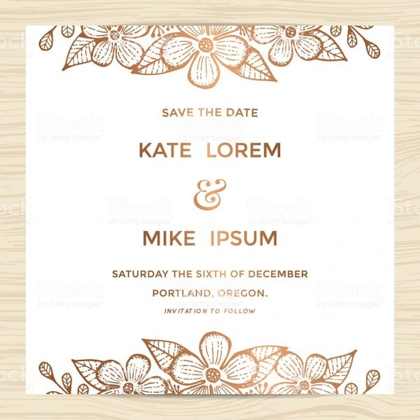 Invitations   Wedding Invitation Card Template Editable Templates