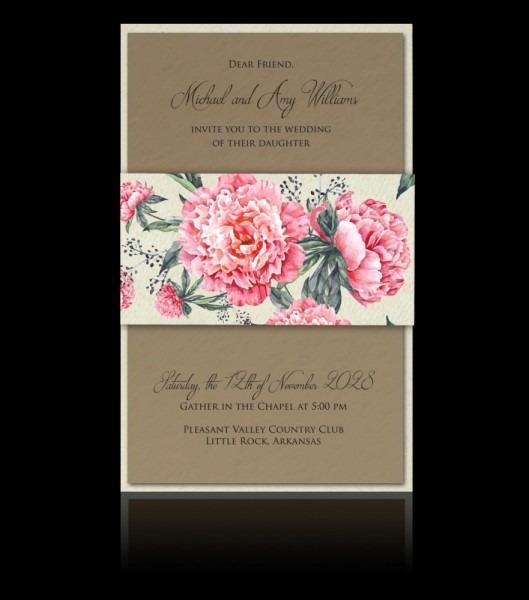Wedding Invitation D 2902