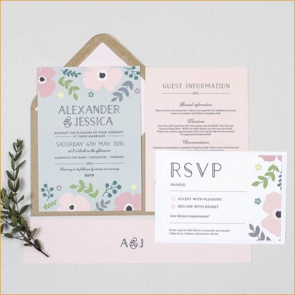 Luxury Wedding Invitation Wording Limited Guests