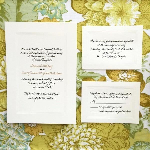 Wedding Invitations Raleigh Nc – Healthandfitnessart Info