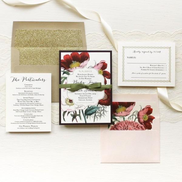 Fresh Wedding Invitations Small Quantity