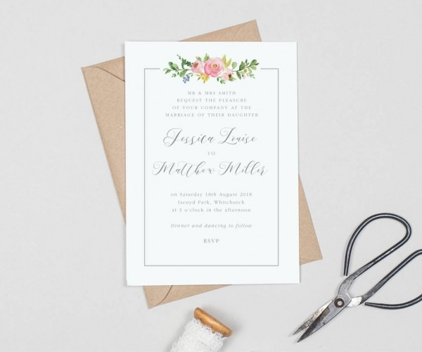 Decorations Wedding Stationery Packages Traditional Wedding