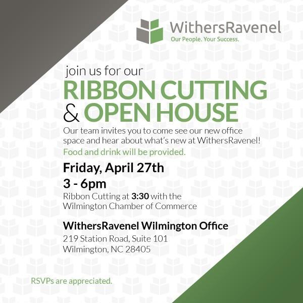 Wilmington Ribbon Cutting Invite