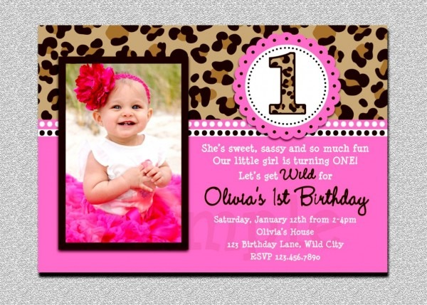 Inspirational Of 1st Birthday Party Invitations Ist Photo Sparkle