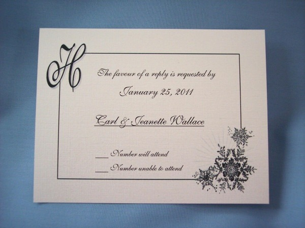 Wording For Wedding Reply Cards ~ Wedding Invitation Collection