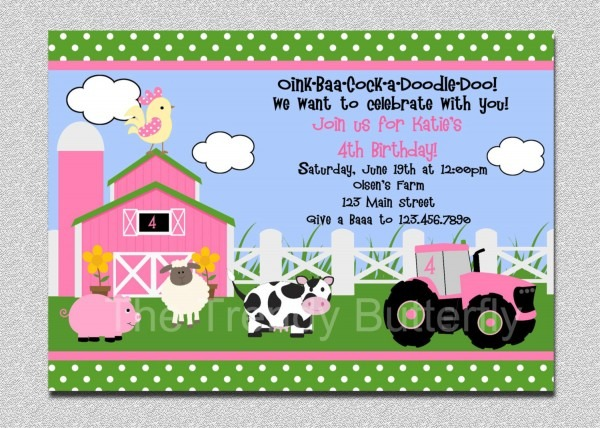 Free Zoo Party Invitation Template